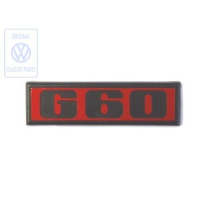 191853675B QN5 Rear G60 emblem