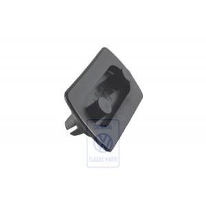 873807193 Holder cover / bumper rear for Polo Mk2 and Polo Mk2 GP.