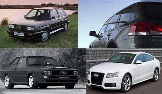 Antique and contemporary Audi, Volkswagen, Seat and Skoda parts